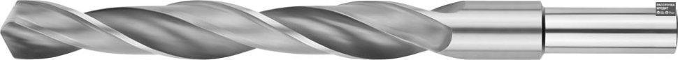 ЗУБР 16.5х184мм, Сверло по металлу, проточенный хвотосвик, сталь Р6М5, класс В (4-29621-184-16.5)