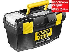 """Ящик для инструмента """"VEGA-16"""" пластиковый, STAYER (38105-16_z03)"""