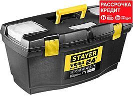 """Ящик для инструмента """"VEGA-24"""" пластиковый, STAYER (38105-21_z03)"""