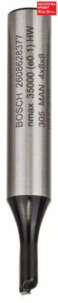 Пазовая фреза Bosch Standard for Wood 8x4x51 мм