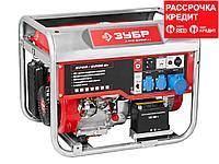 Бензиновый генератор с автозапуском, 6200 Вт, ЗУБР (ЗЭСБ-6200-ЭА), фото 1