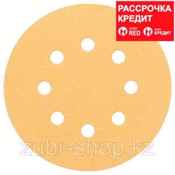 Шлифовальный круг K 80 Bosch Best for Wood and Paint 125 мм, 50 шт