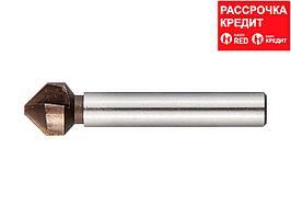 ЗУБР d 10,4x50мм, Зенкер конусный, кобальтовое покрытие, для раззенковки М5 (29732-5)