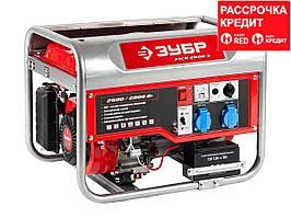 Бензиновый генератор с электростартером, 2800 Вт, ЗУБР (ЗЭСБ-2800-Э)