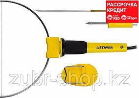 Прибор STAYER MASTER MAXterm для художественной резки пенопласта, пластика, 3 насадки, 7Вт (45257-H3)