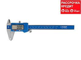 ЗУБР ЭКСПЕРТ, ШЦЦ-I-150-0,01 штангенциркуль электронный, нерж сталь, 150мм (34465-150)