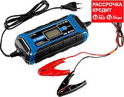Зарядное устройство 6 В/12 В, 4 А, автомат, IP65, AGM, GEL, WET, ЗУБР Профессионал (59300)