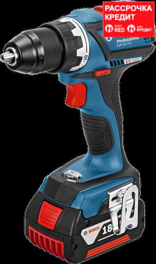 Аккумуляторный шуруповерт Bosch GSR 18 V-EC