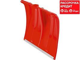 СИБИН ЛП-380 лопата снеговая, пластиковая с алюминиевой планкой, без черенка, 380 мм. (421832)