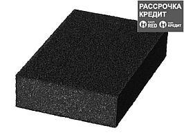 """Губка шлифовальная STAYER """"MASTER"""" четырехсторонняя, зерно - оксид алюминия, Р120; 100 x 68 x 26 мм."""