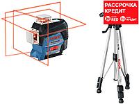 Лазерный нивелир Bosch GLL 3-80 C + BT 150, фото 1