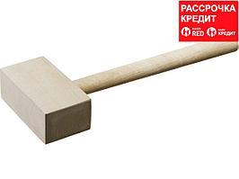 ЗУБР 600г киянка деревянная прямоугольная (2045-06)