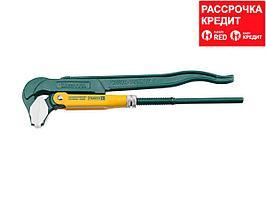 KRAFTOOL PANZER-A, №1, ключ для сантехнической арматуры, прямые губки (27361-10_z01)