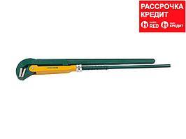 KRAFTOOL PANZER-L, №5, ключ трубный, прямые губки (2734-40)