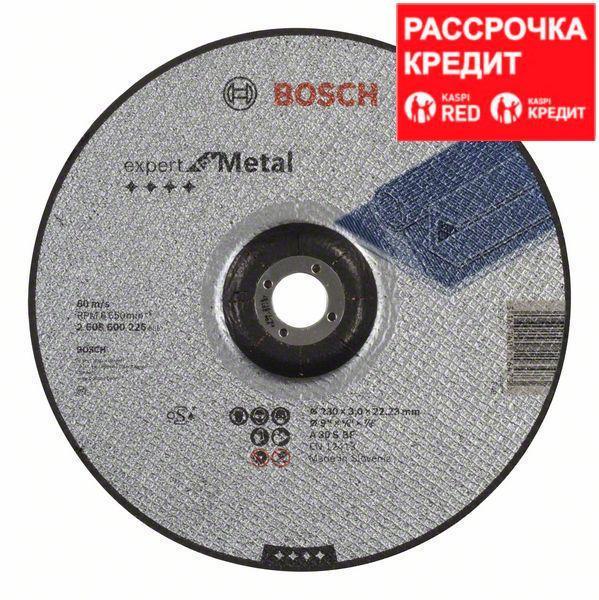 Отрезной круг Bosch Expert for Metal 230x3 мм вогнутый