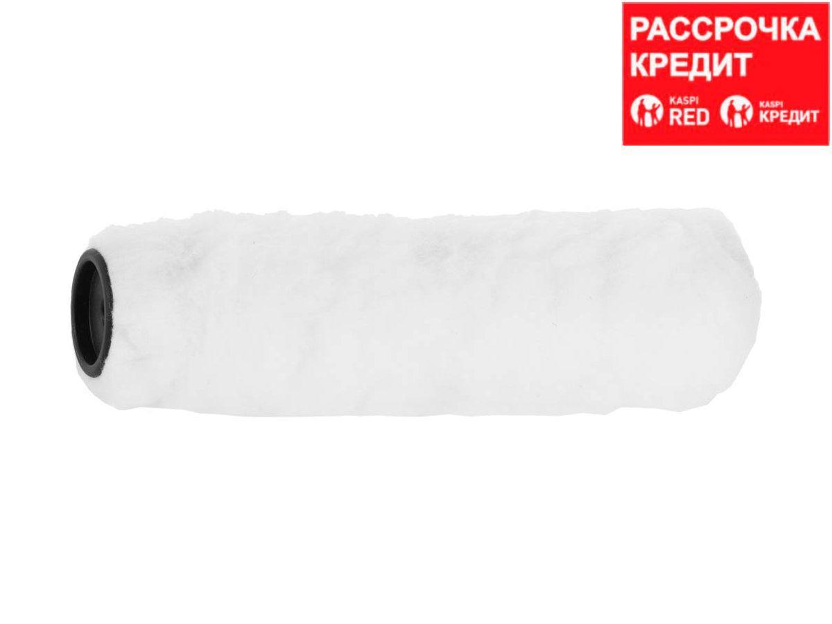 Ролик для малярных валиков ЗУБР 0305-S-25, СТАНДАРТ РАДУГА сменный меховой, ручка 6 мм,  240 мм