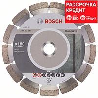 Алмазный отрезной круг по бетону Bosch Standard for Concrete 180x22.23x2x10 мм