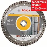 Алмазный отрезной круг универсальный Bosch Standard for Universal Turbo 230x22.23x2.5x10 мм, фото 1