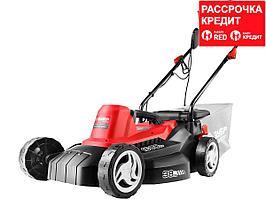 ЗУБР 1600 Вт газонокосилка сетевая, ш/с 380 мм, 9.9 кг (ЗГКЭ-38-1600)
