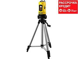 STAYER SLL-2 нивелир лазерный, 10м, точн. +/-0,5 мм/м, штатив, кейс (34960-H2)
