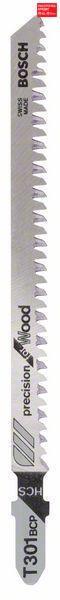 Пилочка для лобзика Bosch Precision for Wood T 301 BCP, 5 шт