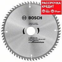 Пильный диск Bosch Eco for Aluminium 210х30, Z64, фото 1