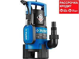 ЗУБР Профессионал НПГ-Т3-400, дренажный насос для грязной воды, 400 Вт (НПГ-Т3-400)
