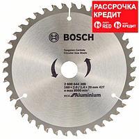 Пильный диск Bosch Eco for Aluminium 160х20/16, Z42