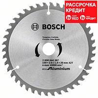 Пильный диск Bosch Eco for Aluminium 150х20/16, Z42, фото 1