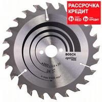 Пильный диск Bosch Optiline Wood 160 x 20/16, Z24