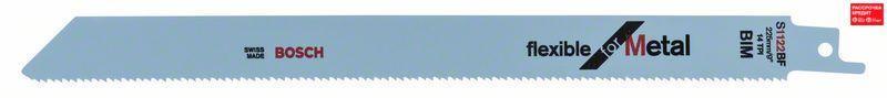 Сабельное полотно по металлу Bosch Flexible for Metal S 1122 BF, 5 шт