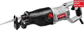 Пила сабельная (электроножовка), ЗУБР ЗПС-1100 Э, 1100 Вт, 800-2700 ход/мин, рез 230 мм (дерево), 20 мм
