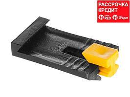 ЗАМШ-П 100 шт зажим пластиковый для маячкового профиля, ЗУБР (3095-100)