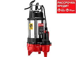 ЗУБР НПФ-450 фекальный насос, 450 Вт (НПФ-450)
