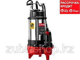 ЗУБР НПФ-750 фекальный насос, 750 Вт (НПФ-750)
