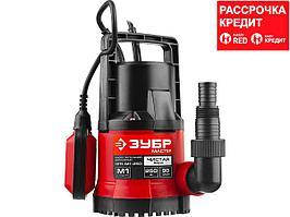 ЗУБР НПЧ-М1-250 дренажный насос с минимальным уровнем откачки, 250 Вт (НПЧ-М1-250)