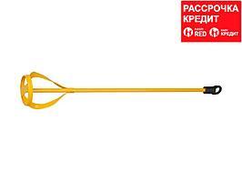 """Миксер STAYER """"MASTER"""" для красок металлический, шестигранный хвостовик, крашенный, 60х400мм (06019-06-40)"""