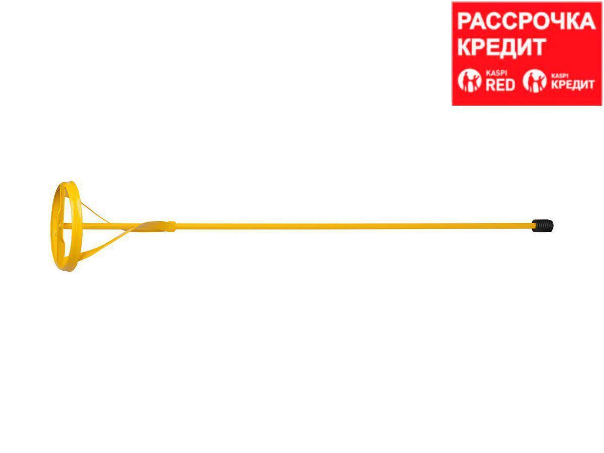"""Миксер STAYER """"MASTER"""" для красок металлический, шестигранный хвостовик, крашенный, 100х600мм (06019-10-60)"""