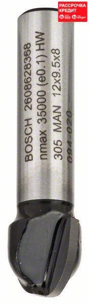 Галтельная фреза Bosch Standard for Wood 8x12x40 мм
