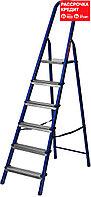Лестница-стремянка стальная, 6 ступеней, 121 см, MIRAX (38800-06)