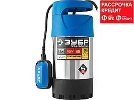 ЗУБР Профессионал НПЧ-Т5-800-С насос дренажный с большим напором, 800 Вт (НПЧ-Т5-800-С)