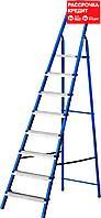 Лестница-стремянка стальная, 8 ступеней, 162 см, MIRAX (38800-08)
