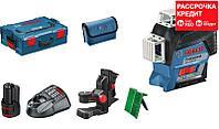 Лазерный нивелир Bosch GLL 3-80 CG, фото 1