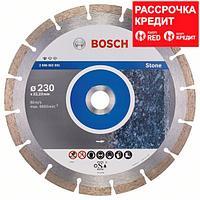 Алмазный отрезной круг по камню Bosch Standard for Stone 230x22.23x2.3x10 мм, фото 1