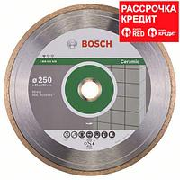 Алмазный отрезной круг по керамике Bosch Standard for Ceramic 250x30/25.4x1.6x7 мм, фото 1