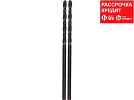 """Сверло URAGAN """"BAGIRA"""" по металлу, цилиндрический хвостовик, быстрорежущая сталь HSS, 6,5х101мм, 1шт (901-11431-101-6.5)"""