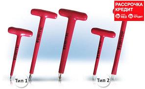 Отвертка Т-образная крестовая №3 до 1000В