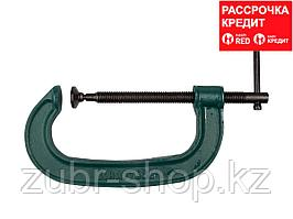 EXTREM EG-10 струбцина тип G 100 мм, KRAFTOOL (32229-100)