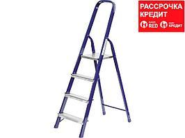 Лестница-стремянка СИБИН стальная, 4 ступени, 82 см (38803-04)