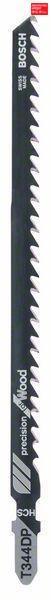 Пилочка для лобзика Bosch Precision for Wood T 344 DP, 5 шт